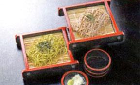 二色ざる蕎麦